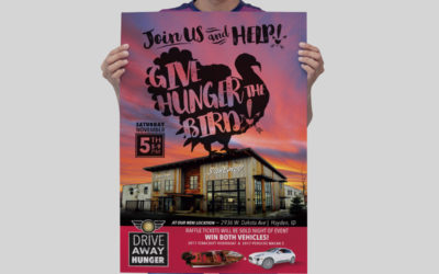 Give Hunger the BIRD!